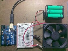 How to use a Tip with arduino to control high power devices