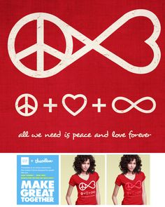 tee design up for scoring @threeadless.com please score 5 if you want this printed on tee thanks score here PEACE AND LOVE FOREVER a tee design up for scoring @threadless.com need your votes guys click email me if it.. and please score 5 thanks http://www.threadless.com/submission/409801/Peace_and_Love_Forever