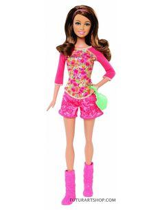 Barbie Raquelle   ... / Giochi per Bambina / Bambole / Barbie Pigiama Party Raquelle