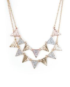 Geo Triad Necklace