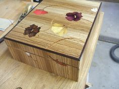 The Eyes Box marquetry/Jim Rogers
