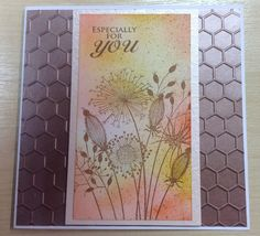 "Made by Mel from MJ Crafts using ""Going to Seed"" Clear stamp by Woodware"