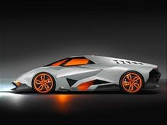 Party crasher: Lamborghini Egoista concept