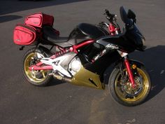 Black and Gold Chrome #MotorBike http://www.chromefactorylv.com/