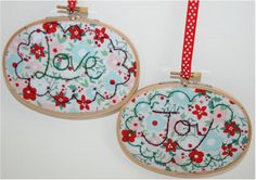 How to finish Cross Stitch in an Embroidery Hoop - StitchKits