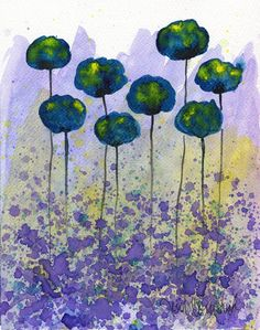 Buy 2 Get 1 FREE Watercolor Painting Watercolor by PopwheelArt