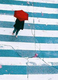 Walking down the street by Julie-de-Waroquier.deviantart.com