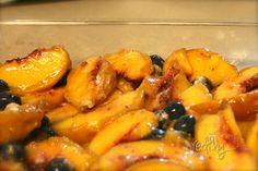 Redfly Creations: Blueberry Peach Crisp