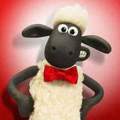 Shaun the Sheep looking dapper! Cute Cartoon Wallpapers, Cartoon Images, Sheep Cartoon, Drawing Hair Tutorial, Sheep Shearing, Sheep Art, Ice Cream Van, Shaun The Sheep, Doodle Art Drawing