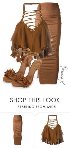 """Untitled #3074"" by breannamules ❤ liked on Polyvore featuring Givenchy, Balmain and Aquazzura"