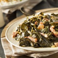 oven baked collards
