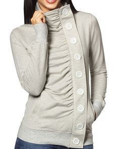 I bet this be done with a sweat shirt refashion.......