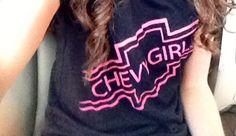 Chevy girl shirt ♡