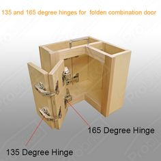 x Degree Corner Folded Cabinet Door Hinges Kitchen Bathroom Cupboard. Purpose: This hinge used for cabinet doors, wardrobe, TV cabinets, bookcases, wine and other luxury door connection. Cupboard Door Hinges, Kitchen Cabinets Door Hinges, Diy Kitchen Cabinets, Kitchen Cabinet Design, Interior Design Kitchen, Corner Cabinet Hinges, Kitchen Corner Cupboard, Kitchen Pantry, Door Handles