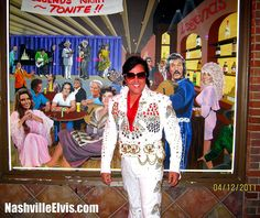 Nashville Elvis Impersonator Chuck Baril Legends #nashvilleelvisimpersonator