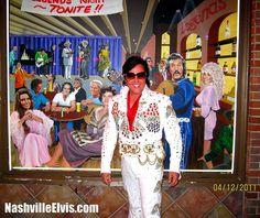 Nashville Elvis Impersonator Chuck Baril Legends #nashvilleelvisimpersonator