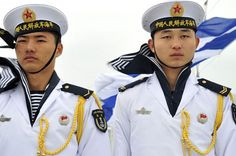 China's year-on-year increase in military spending slowed slightly in 2014, but is still very high by global standards (spending has increased by 140% from 2004 to 2013). (Image credit: People's Liberation Army (PLA) Navy sailors. Photo by Tiffini M. Jones, MC 1st Class, US Navy. Public domain via Wikimedia Commons.) #China #military