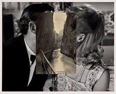 Face off: John Stezaker and John Baldessari show how to create audience engagement John Baldessari, John Stezaker, Collage Foto, Art Du Collage, Collage Artists, Face Collage, Art Collages, Collage Portrait, Photomontage