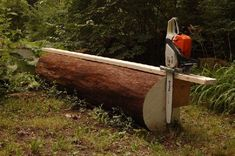 Harvesting and processing the wood that grows on your property is the dream of many homesteaders. The dream can be expensive (around $5k) because you need a sawmill in order to rip the wood and remove the bark. Instead of spending years saving up, you can spend less by building your own saw mill out