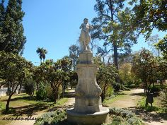 Parque Maria Luisa: Glorieta al Dios Pan  /  Jardines de las Delicias ...
