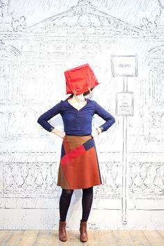 ロンシャンとファビエンヌのコラボレーションによる、パリジェンヌの日常とは | PHOTO(2/10) | FASHION HEADLINE Ballet Skirt, Skirts, Fashion, Moda, Tutu, Fashion Styles, Skirt, Fashion Illustrations
