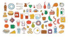 The Kitchen game by Irene Shkarovska, via Behance