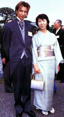 Yoshiki and his Mom 🙄