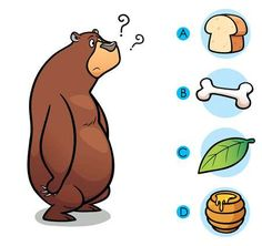 Vector Illustration of make the right choice connect animal with their food - Bear , 4 Year Old Activities, Toddler Learning Activities, Preschool Activities, Kids Learning, Activities For Kids, Farm Animals Preschool, Preschool Worksheets, Busy Book, Kids Education