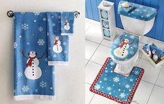 decoracion navideña para baños