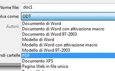 Come convertire un file Word in PDF Come convertire un file Word in formato PDF per trasformare un documento DOC in PDF gratis, utilizzando programmi come Microsoft Word o LibreOffice oppure tramite applicazioni online che consentono d #word #pdf #dawordapdf #convertire