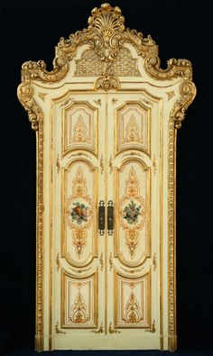 Magnificent Set of Four Venetian Palace Double Doors, Late 19th Century   From a unique collection of antique and modern doors and gates at http://www.1stdibs.com/furniture/building-garden/doors-gates/