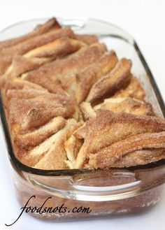 Elephant ear Cinnamon and Sugar Pull-apart Bread  OMG why haven't I been making this forever!