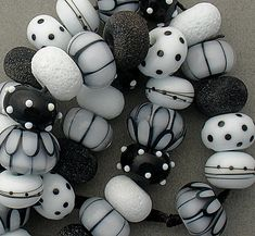 DSG Beads Handmade Organic Lampwork Glass  by debbiesanders, $145.00