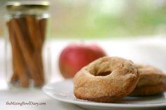 Apple Cider Donuts {Gluten Free, Dairy Free}