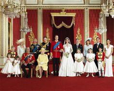 Buckingham+Palace+Balcony+Room | The Royal Wedding Group in the Throne Room at Buckingham Palace Photo ...