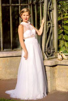 Robe de mariée sur mesure Lyon - Ludivine Guillot / Robe - Mariée ...