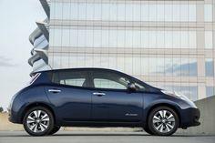 LEAF photo courtesy of Nissan.