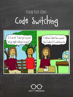 code switching essays