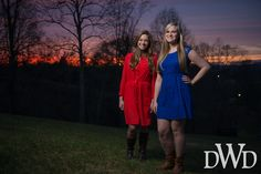 Beautiful senior girls in front of equally beautiful sunset  Don Wright Designs & Photography | Nashville Photography, Web Design & Multimedia Collective