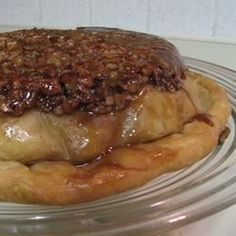 Upside-Down Apple Pecan Pie - Allrecipes.com        I like to cheat when in a hurry and use a Mrs. Smith's frozen pie. Still fabulous.