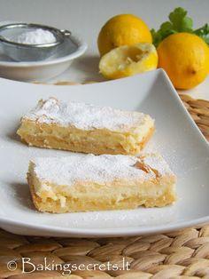 Citrinų pyragas  Lemon Bars