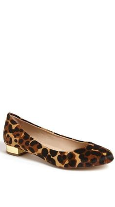 .gold heel + leopard print? i'm in lurrrvee