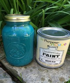 Mohair Blue Re-Purpose PaintQuart size, water based