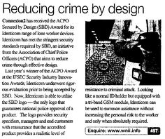 Reducing Crime by Design