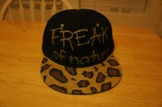 Freak Of Nature Leopard SnapBack by MZFTS on Etsy Nature Aesthetic 081ff74bcc6b