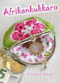 Virkkaus | Tuulia design. Iloa & Ideaa askarteluun ja käsitöihin! Chrochet, Knit Crochet, Crochet Hats, Coin Purse, Purses, Knitting, Korit, Diy, Tutorials
