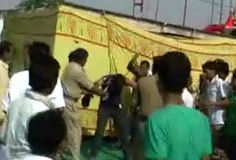 Baba Ramdev's supporters beat up student for asking a question