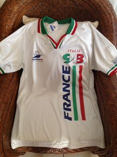 Italy Soccer/fútbol Jersey france 98 world cup New With Tags size XL mens in Sporting Goods, Team Sports, Soccer | eBay