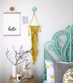 Hello Sunshine - wall art - Kids interior design, decor and DIY