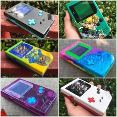 Image of Custom Original Gameboy by (DMG) Nintendo 2ds, Gameboy Games, Nintendo Switch, Retro Video Games, Retro Games, Tetris, Mundo Dos Games, Nintendo Systems, Custom Consoles